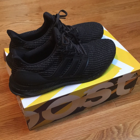 0f68ac15317 adidas Other - Adidas Ultra Boost 4.0 Triple Black- Worn Once!